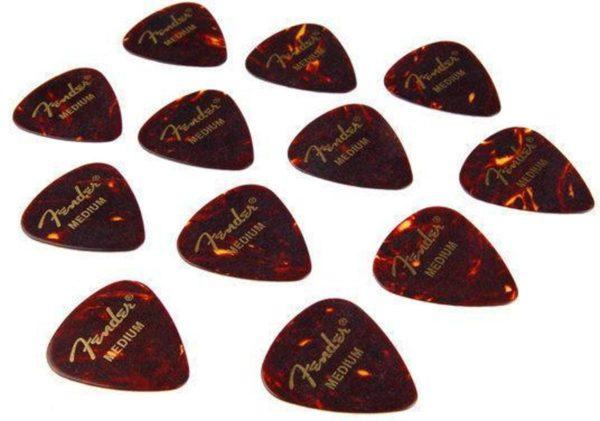Fender Fender 351 Plectrum, Medium, 12 stuks